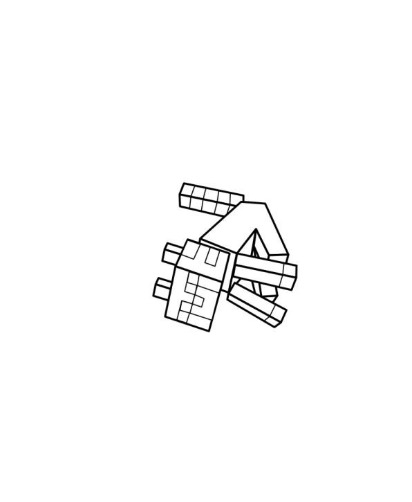Minecraft (7) målarbok