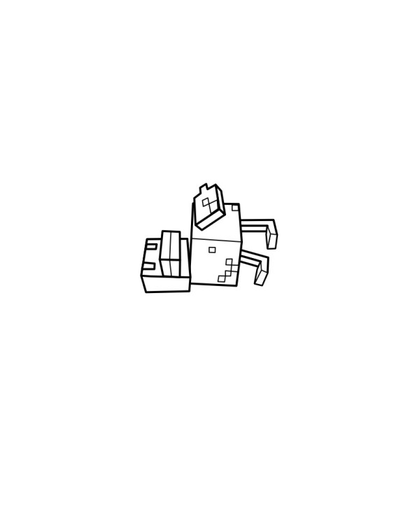 Minecraft (8) målarbok