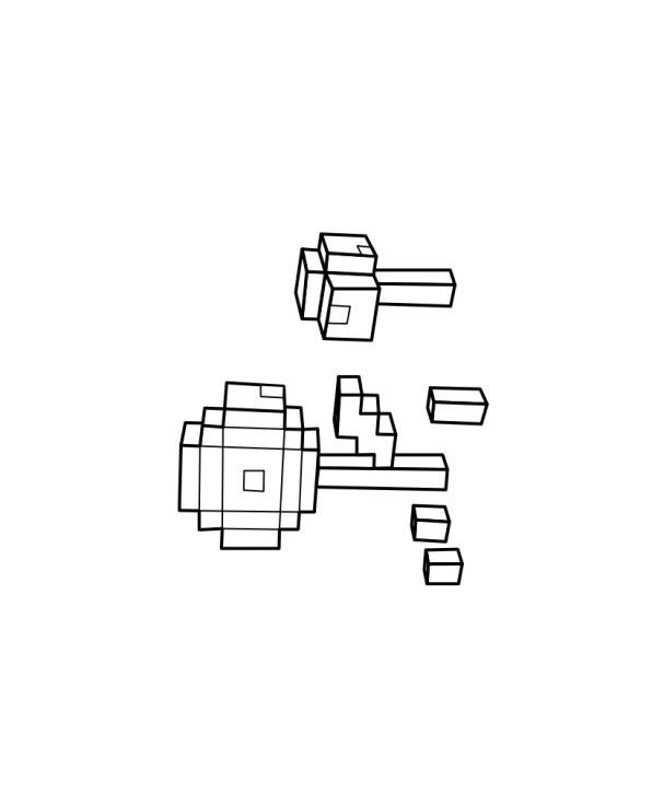 Minecraft (9) målarbok