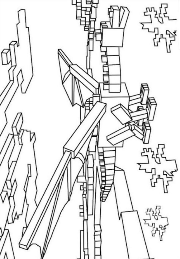 Minecraft σχέδια για ζωγραφική