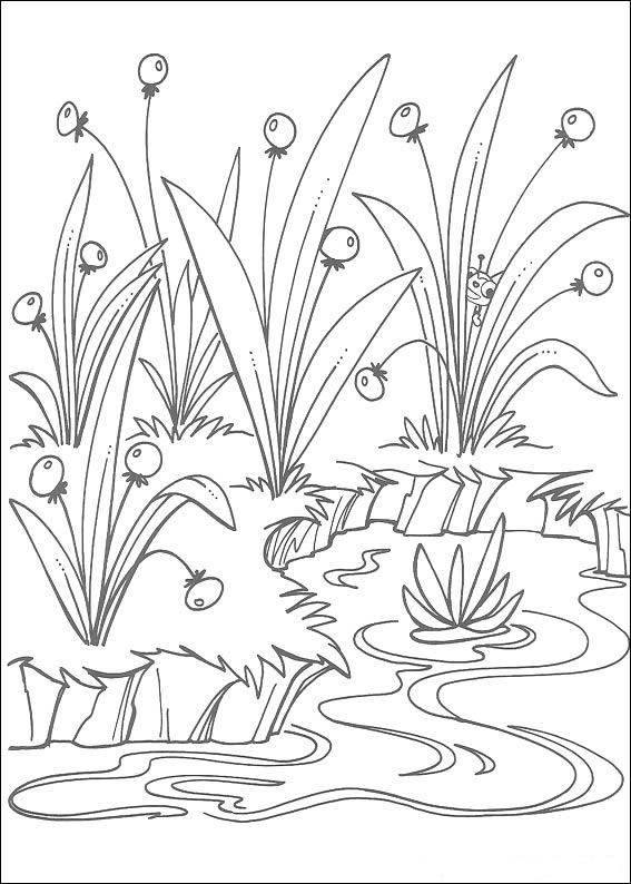 Miss Spider (4) coloring page
