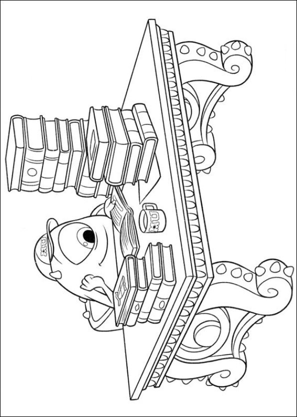 Monsters University (37) coloring page