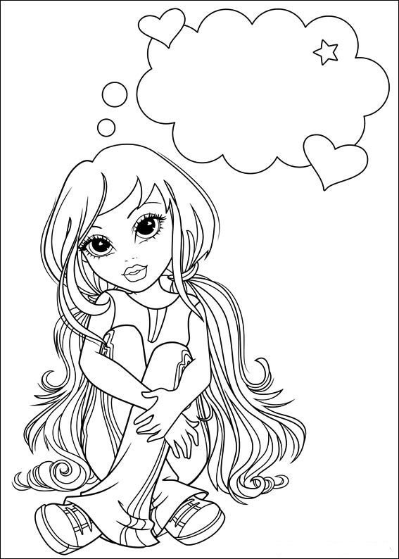 Moxie Girlz (6) coloring page