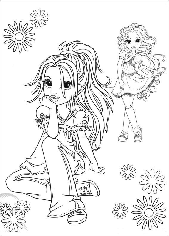 Moxie Girlz (7) coloring page