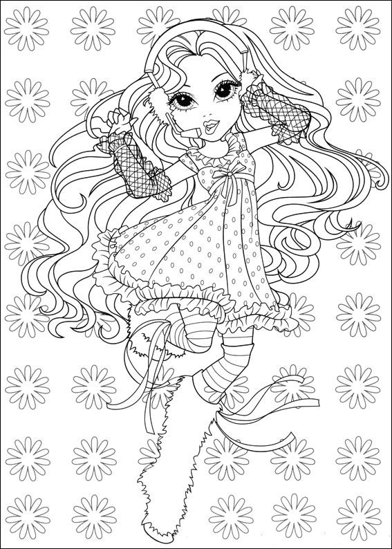 Moxie Girlz (9) coloring page