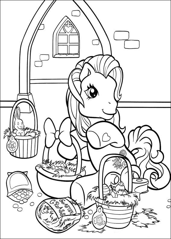 My Little Pony (36) coloring page