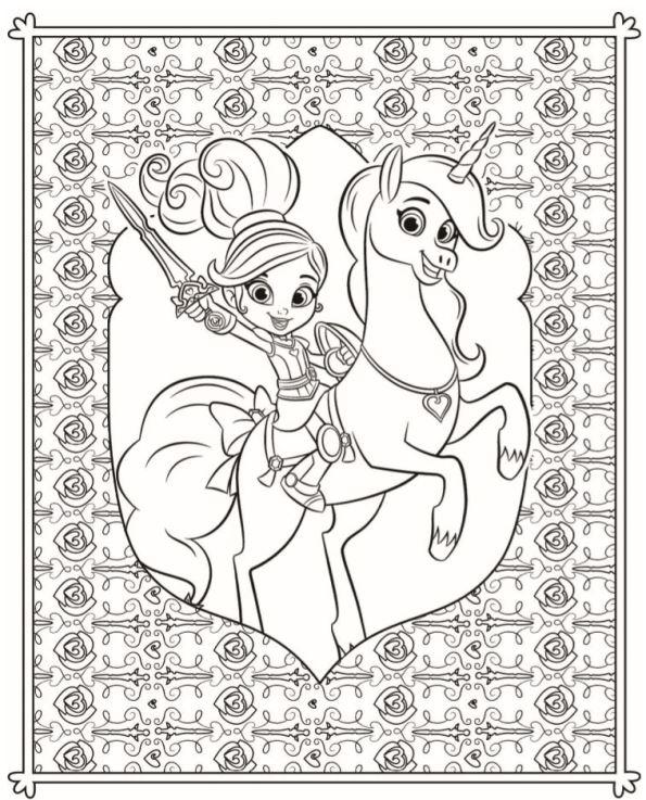 Nella De Prinses 5 Kleurplaat Jouwkleurplaten