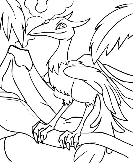 Neopets Prehistory (6) coloring page