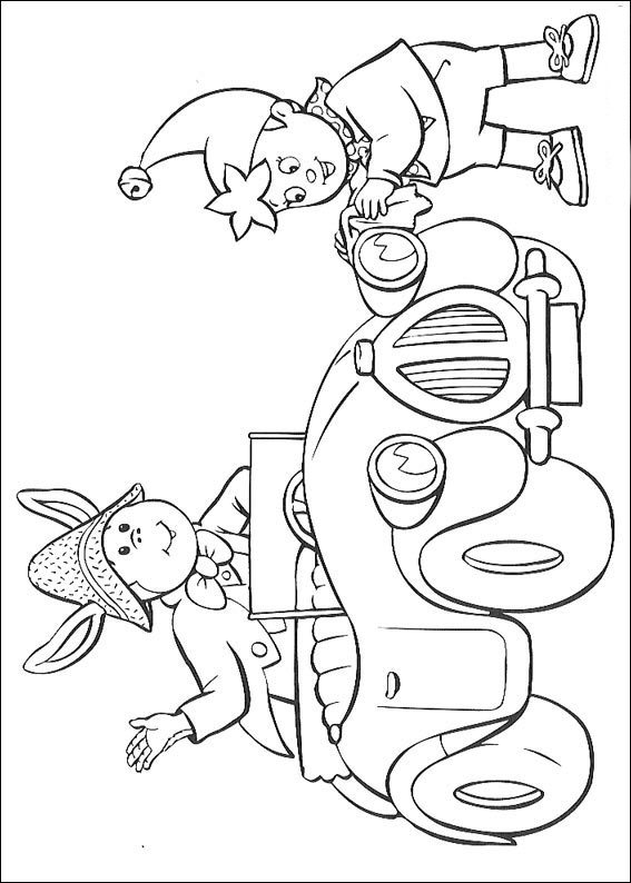 Pagina da colorare di Noddys Friends (4)