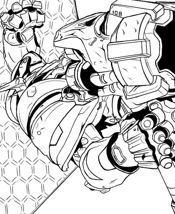 overwatch-10 målarbok