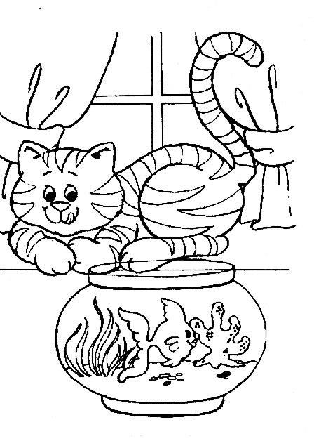 Katten Kleurplaten Printen.Poezen En Katten Kleurplaat Jouwkleurplaten