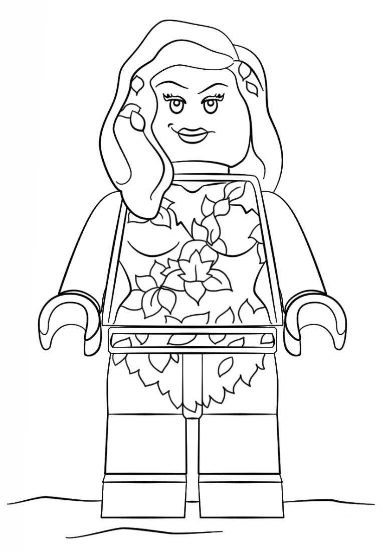 poisin ivy coloring page