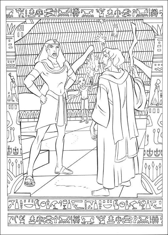 Prins van Egypte (22) kleurplaat