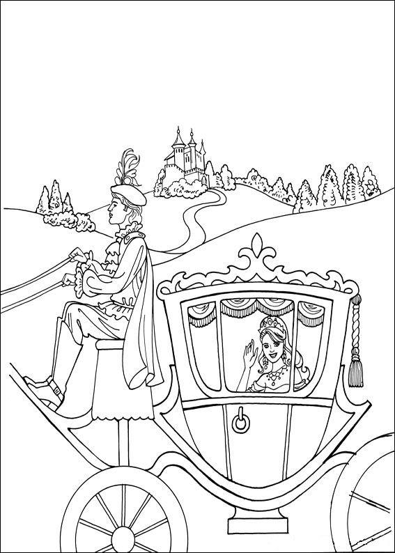 Prinses Leonora (8) kleurplaat