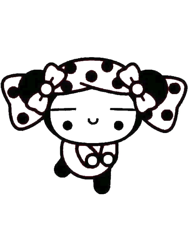 Pucca (11) coloring page