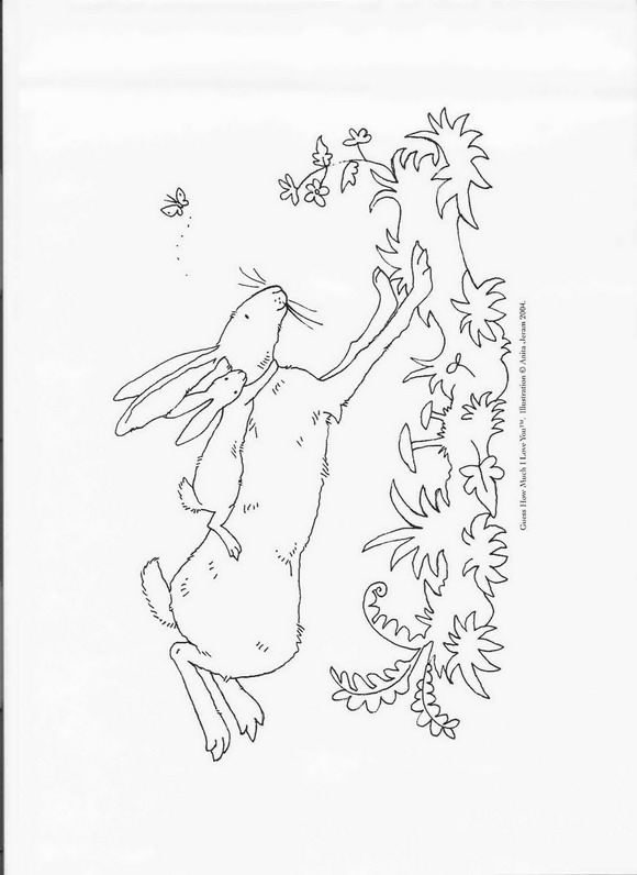 Guess how much (1) coloring page