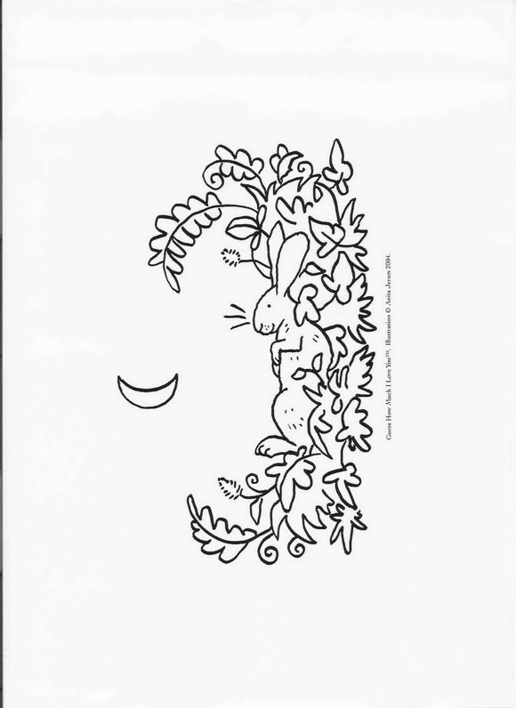Guess how much (6) coloring page