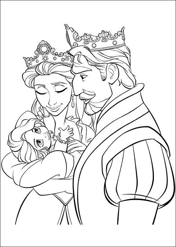 Kleurplaten Prinses Rapunzel.Rapunzel Kleurplaat Jouwkleurplaten
