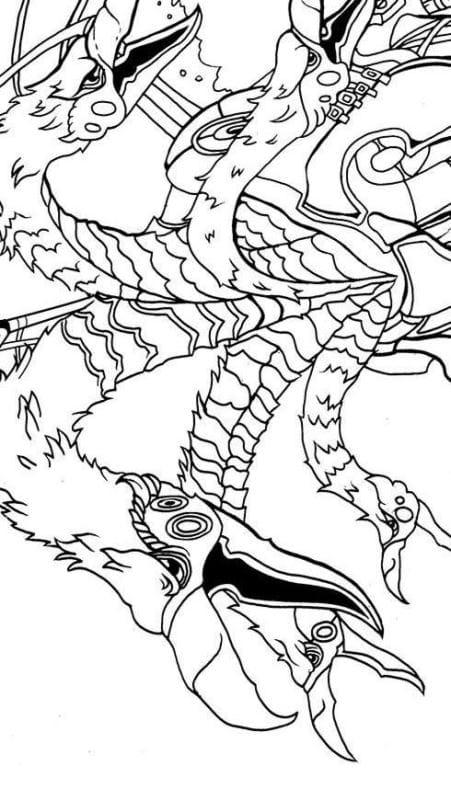 raveleijn draconicon målarbok