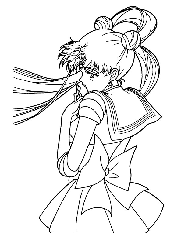 Sailor Moon (45) coloring page