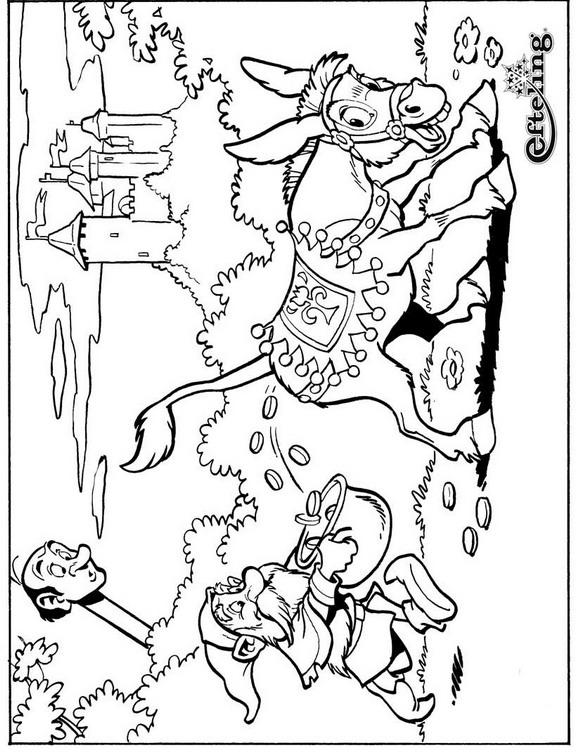 Раскраска Сказочное дерево (4)