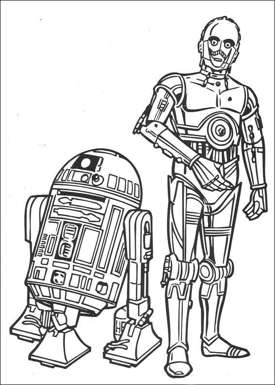 Kleurplaten Star Wars.Star Wars Kleurplaat Jouwkleurplaten
