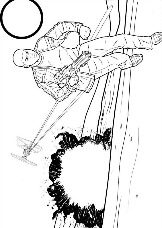 Star Wars The force awakens (3) coloring page