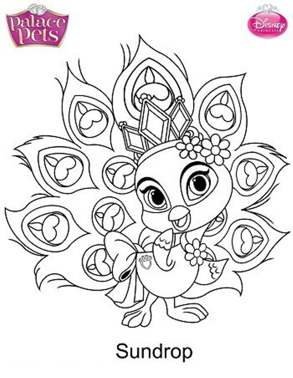 sundrop coloring page