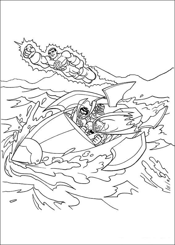 Super Friends (11) målarbok