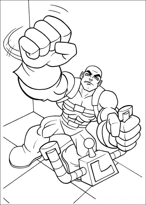 Super Friends (3) målarbok