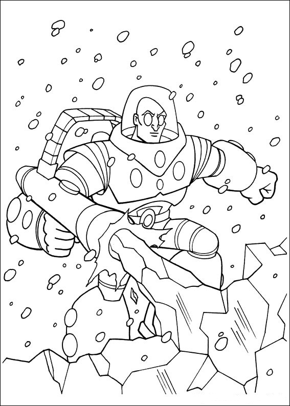 Superfriends (4) coloring page