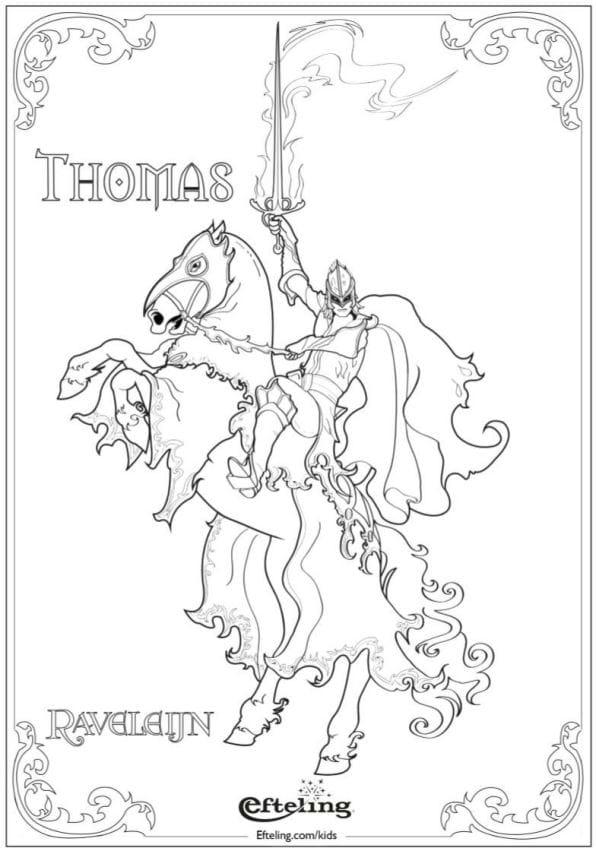 Thomas målarbok