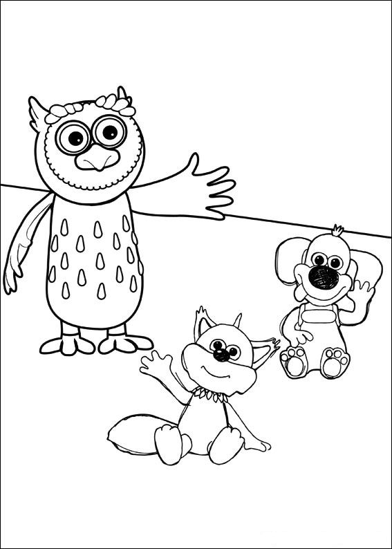 Timmy Time (14) coloring page