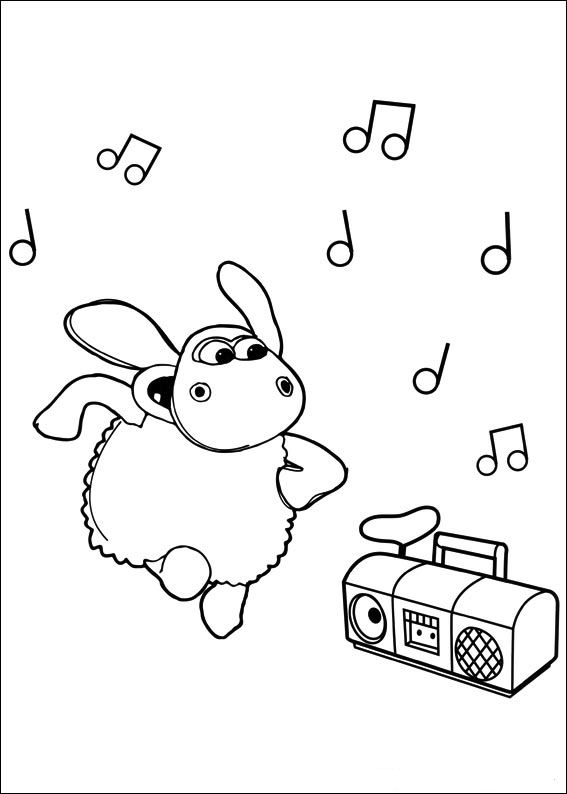 Timmy Time (18) coloring page