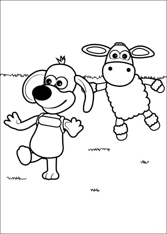 Timmy Time (22) coloring page