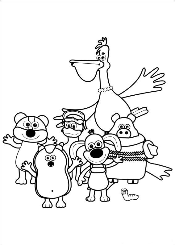 Timmy Time (36) coloring page