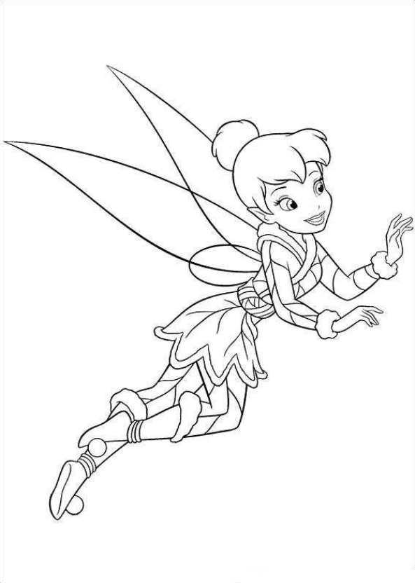 Kleurplaten Tinkerbell Disney.Tinkerbell Secret Of The Wings 9 Kleurplaat Jouwkleurplaten