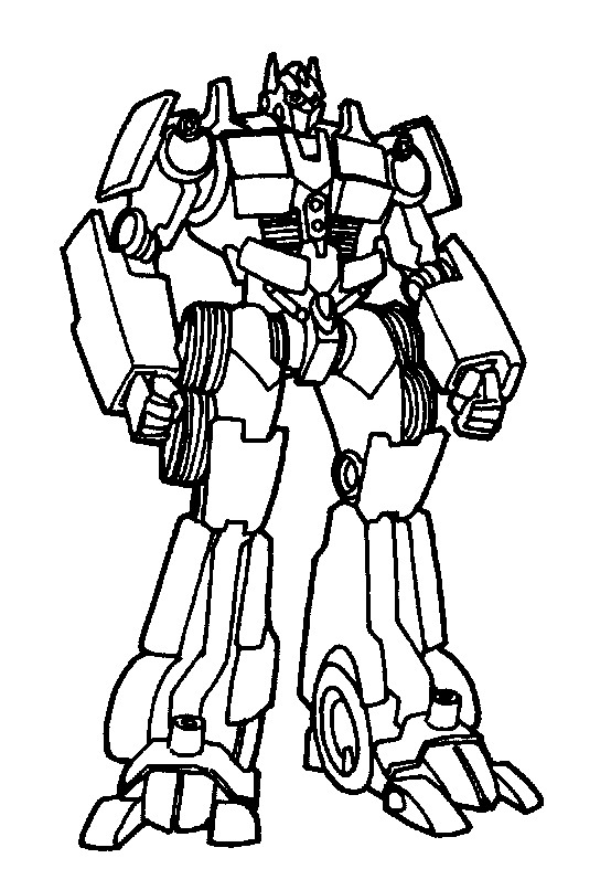 Transformers (9) coloring page