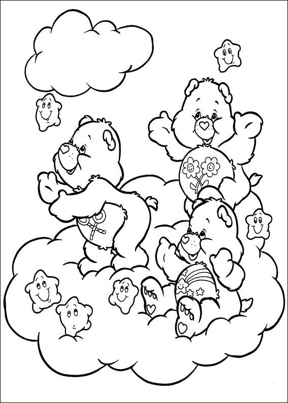 Care Bears (59) coloring page