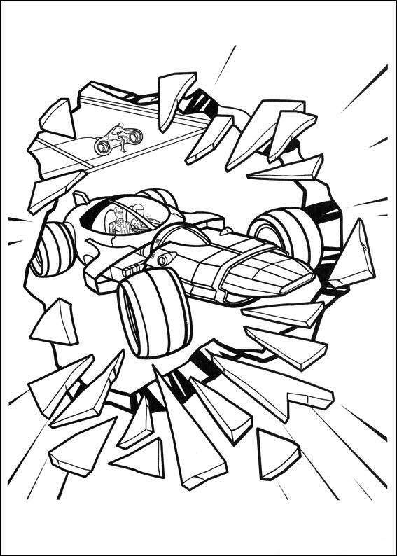 Tron (15) coloring page
