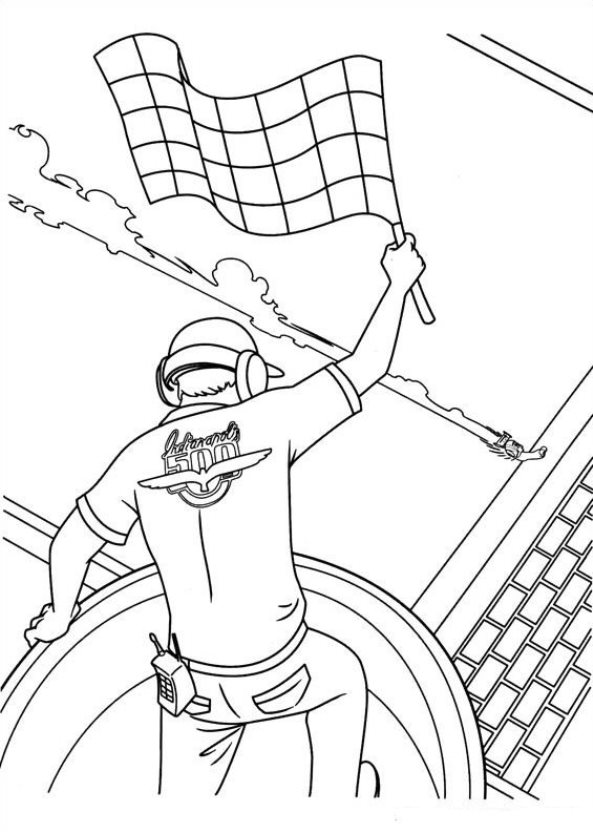 Turbo (Pixar) (27) coloring page