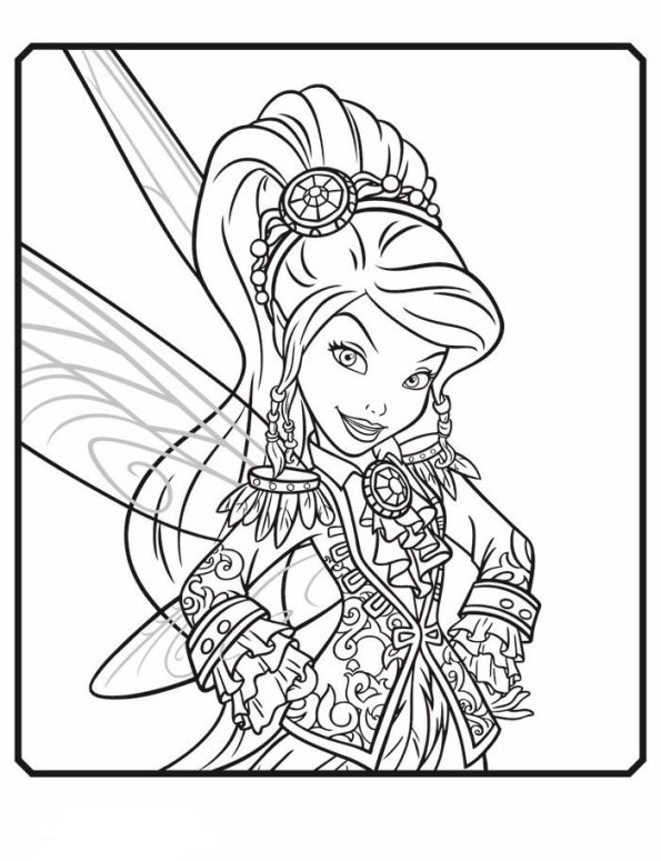 Vidia coloring page