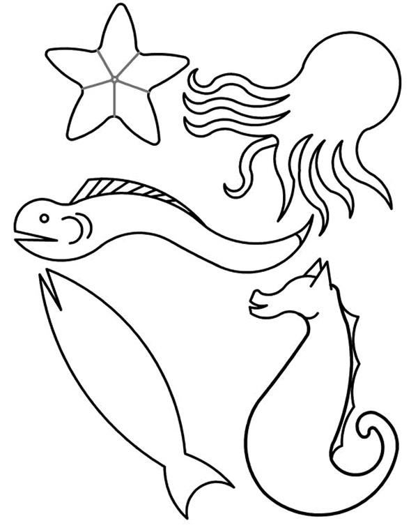 Vissen Kleurplaat Jouwkleurplaten