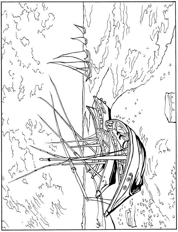 Malvorlagen Fischerboote 1888 ausmalbilder