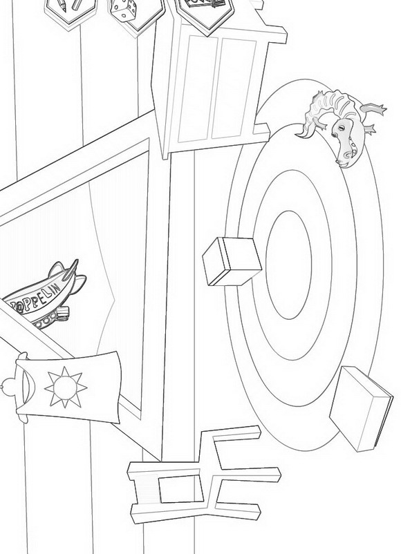 Zappflat (2) coloring page