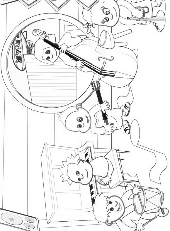 Zappflat (3) coloring page
