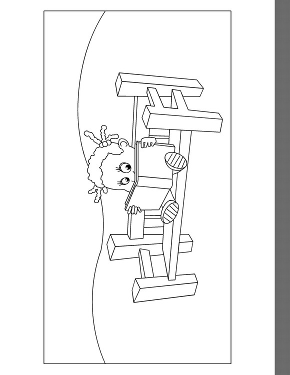 Zappflat (5) coloring page
