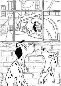 coloring page 101 Dalmatians (11)