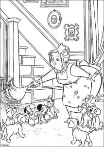 coloring page 101 Dalmatianer (12)