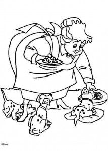 coloring page 101 Dalmatianer (29)